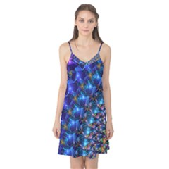 Blue Sunrise Fractal Camis Nightgown
