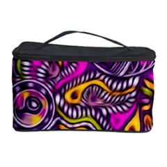 Purple Tribal Abstract Fish Cosmetic Storage Case