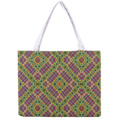 Multicolor Geometric Ethnic Seamless Pattern Tiny Tote Bag