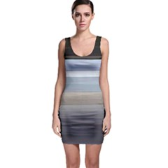 Painted Pompey Beach Bodycon Dress
