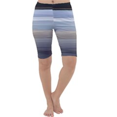 Painted Pompey Beach Cropped Leggings