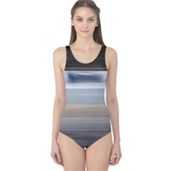 Painted Pompey Beach One Piece Swimsuit