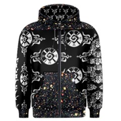 Shamanatrix Galactic Star*Gate * Mens Hooded Jacket