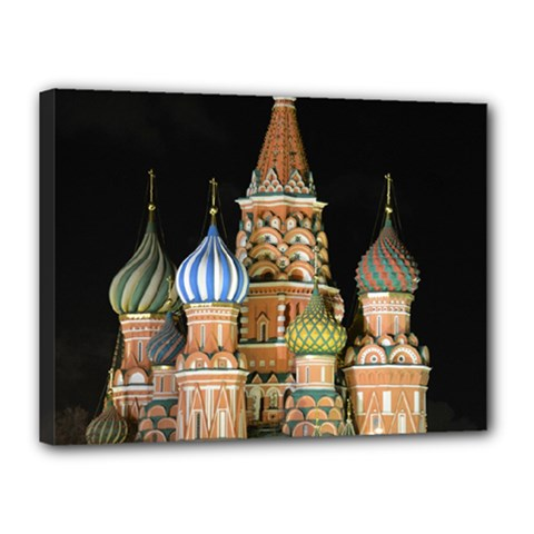 Saint Basil s Cathedral  Canvas 16  X 12  (framed)