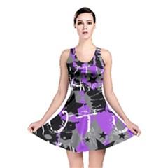 Purple Scene Kid Reversible Skater Dress