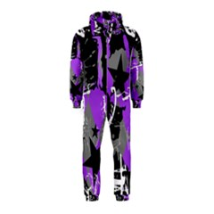 Purple Scene Kid Hooded Jumpsuit (kids)