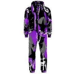 Purple Scene Kid Hooded Jumpsuit (Men)