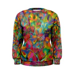 Colorful Autumn Women s Sweatshirt