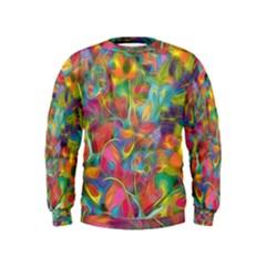 Colorful Autumn Kid s Sweatshirt