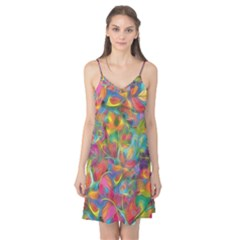 Colorful Autumn Camis Nightgown