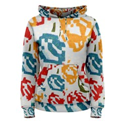 Colorful Paint Stokes Pullover Hoodie