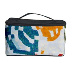 Colorful Paint Stokes Cosmetic Storage Case