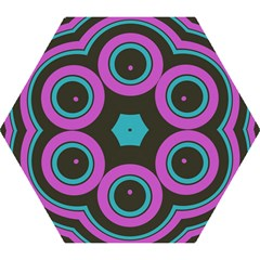 Distorted concentric circles Umbrella