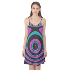 Distorted concentric circles Camis Nightgown
