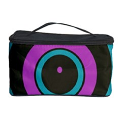 Distorted concentric circles Cosmetic Storage Case