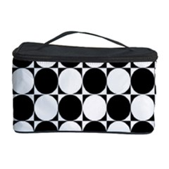 Black And White Polka Dots Cosmetic Storage Case