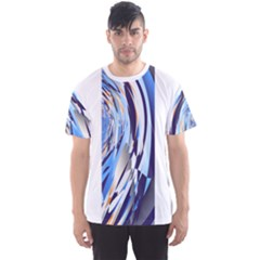 Wave Tracks Men s Sport Mesh Tee