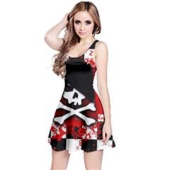 Emo Skull Reversible Sleeveless Dress