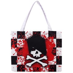 Emo Skull Tiny Tote Bag