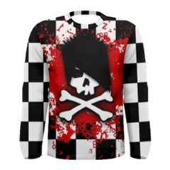 Emo Skull Men s Long Sleeve T-shirt
