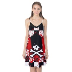 Emo Skull Camis Nightgown