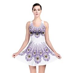 Peacock Reversible Skater Dress