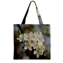 Spring Flowers Grocery Tote Bag