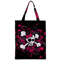 Girly Skull And Crossbones Classic Tote Bag