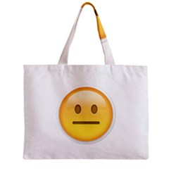 Neutral Face  Tiny Tote Bag