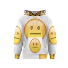 Neutral Face  Kid s Pullover Hoodie