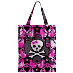 Pink Bow Skull Classic Tote Bag