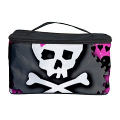 Pink Bow Skull Cosmetic Storage Case