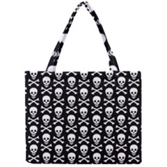 Skull And Crossbones Pattern Tiny Tote Bag