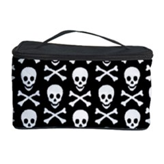 Skull and Crossbones Pattern Cosmetic Storage Case