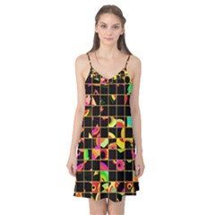 Pieces In Squares Camis Nightgown