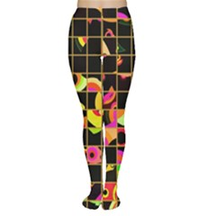 Pieces in squares Tights