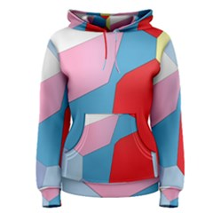 Colorful pastel shapes Pullover Hoodie