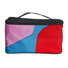 Colorful pastel shapes Cosmetic Storage Case