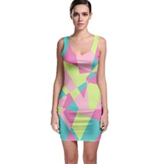 Abstraction Bodycon Dress