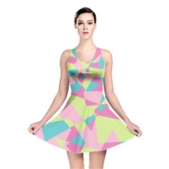 Abstraction Reversible Skater Dress