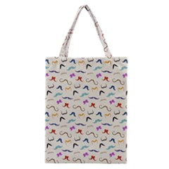 Mustaches Classic Tote Bag