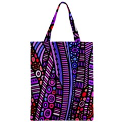 Stained glass tribal pattern Classic Tote Bag