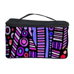 Stained Glass Tribal Pattern Cosmetic Storage Case