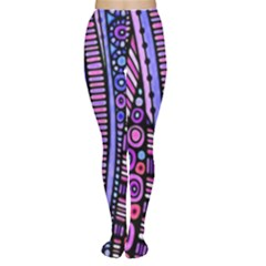 Stained glass tribal pattern Tights