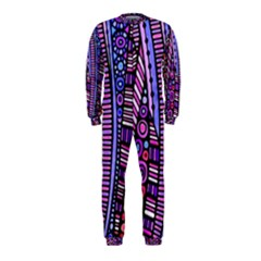 Stained glass tribal pattern OnePiece Jumpsuit (Kids)