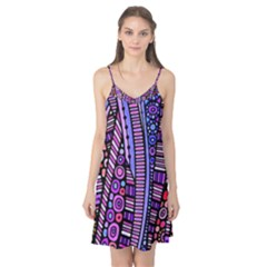 Stained glass tribal pattern Camis Nightgown