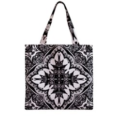 Doodle Cross  Grocery Tote Bag
