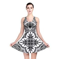 Doodle Cross  Reversible Skater Dress
