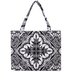 Doodle Cross  Tiny Tote Bag