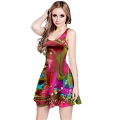 Music Festival Reversible Sleeveless Dress
